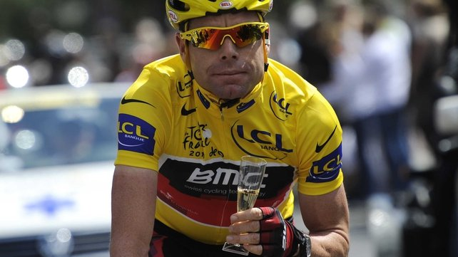 2011 Tour de France winner Cadel Evans will compete for Australia in road race cycling