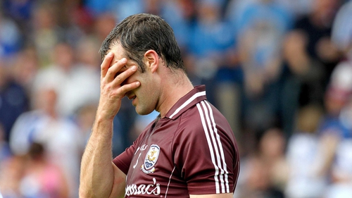 Shane Kavanagh of Galway - The hurlers had a disappointing season
