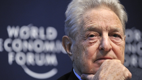 Anger of Wall Street protests due to banks' actions, says George Soros