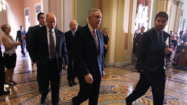Harry Reid - Republican plan is 'dead on arrival'