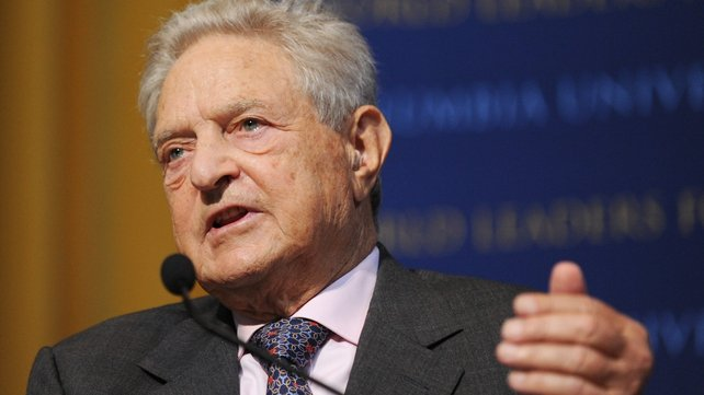 George Soros said Scotland could adopt the euro if it became independent of Britain