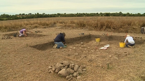 The public will be able to watch archaeological digs like this in Swords, Co Dublin