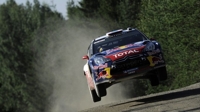 Sebastien Loeb is in charge at Monte Carlo