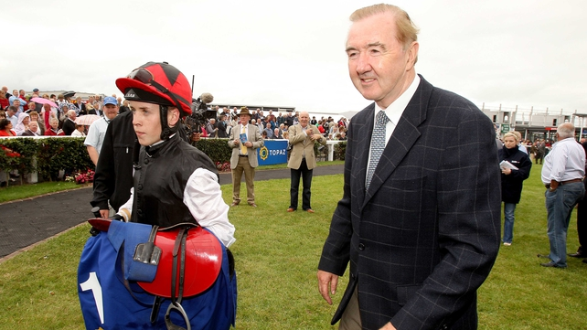 Dermot Weld has received a significant boost with the news that some of the Aga Khan's blue-bloods will be making their way to Rosewell House