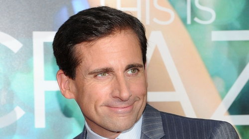 "Steve Carell had ""so much fun"" working on Anchorman: The Legend Continues"