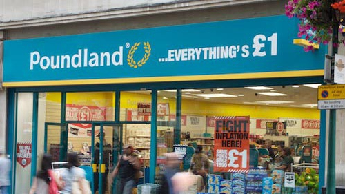 Poundland - Stores in Ireland will be called 'Dealz'