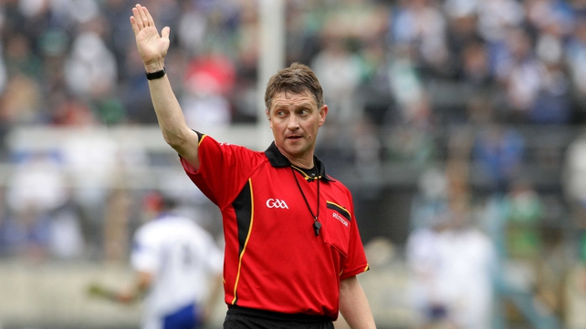 Barry Kelly will take charge of the All Ireland hurling final