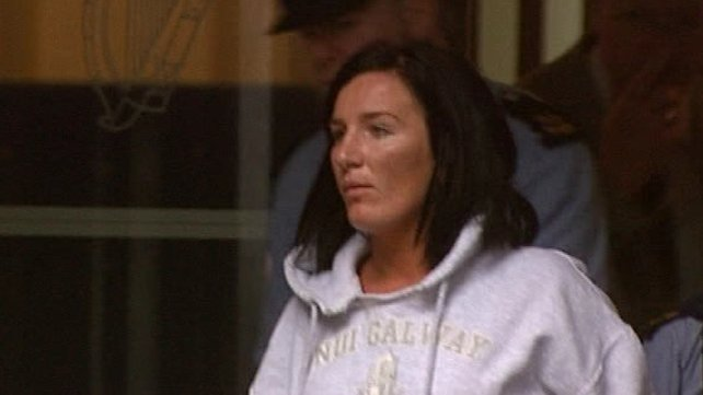 Maura Thornton, from Inverin, Co Galway, denies murdering Kevin Joyce