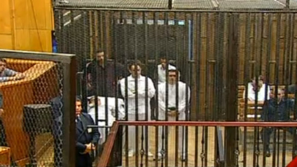 The death sentence has been sought for Hosni Mubarak and his sons