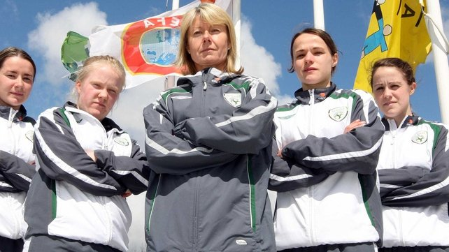 Sue Ronan - Will no doubt hope that the League can aid the fortunes of the international side