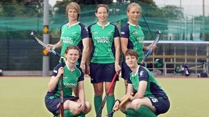 The Irish women's hockey team were beaten by Belarus