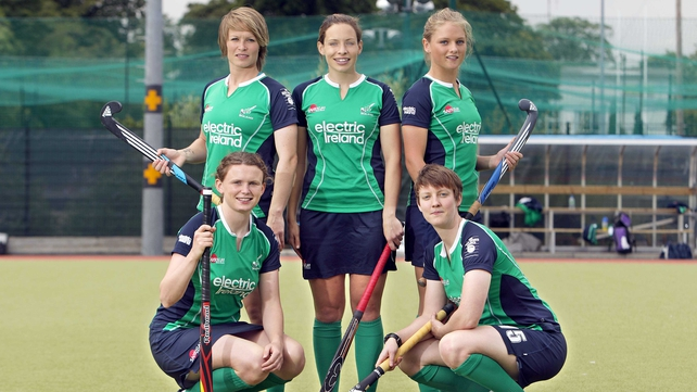 The Irish women's hockey team were beaten by Belarus