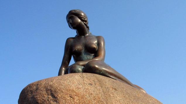 Copenhagen's famous Little Mermaid