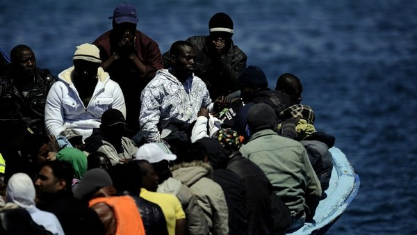 Libyan refugees - Over loaded boats