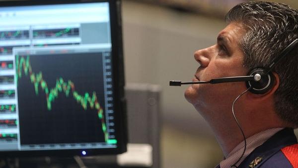Wall Street - Sharp falls
