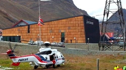 Injured taken by helicopter to hospital