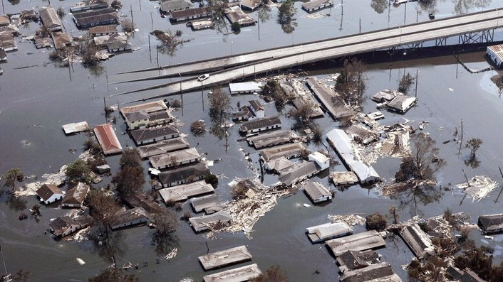 Tenth anniversary of devastating Hurricane Katrina