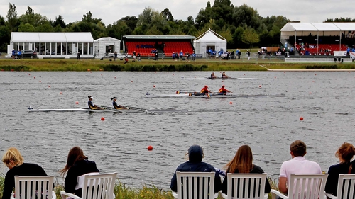 Dorney Lake - The World Junior Championships are taking place at the 2012 Olympic venue