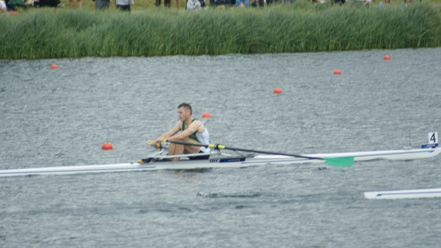 Paul O'Donovan - Just pipped for third spot