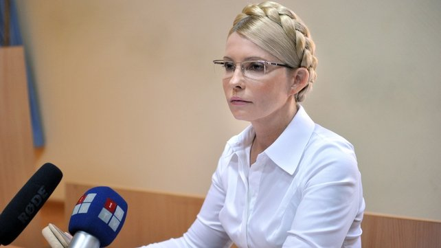 Yulia Tymoshenko was sentenced to seven years in prison in October