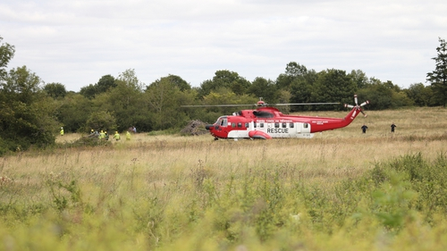 Co Tipperary - Plane crashed in a field