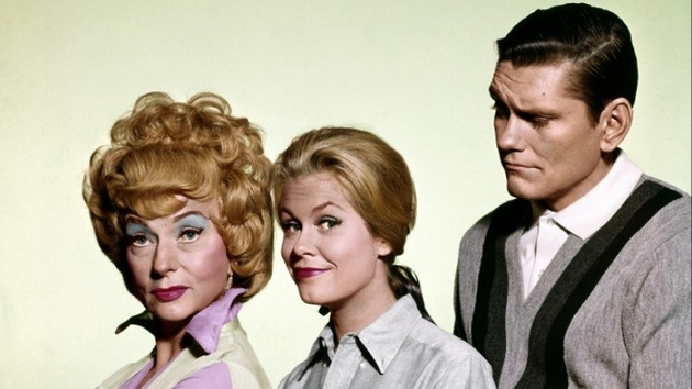 The Bewitched originals: Agnes Moorehead, Elizabeth Montgomery and Dick York