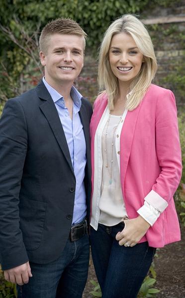 Brian Ormond and Pippa O'Connor