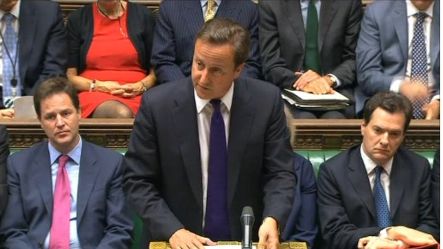 David Cameron tells Commons that UK should renegotiate its role in the European Union