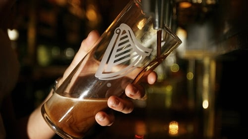 Diageo says Guinness sales declined by 1% globally in its fiscal half year