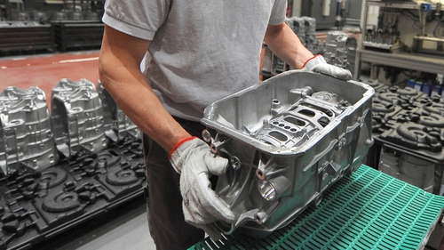 Manufacturing saw a slight gain in March after two months of decline