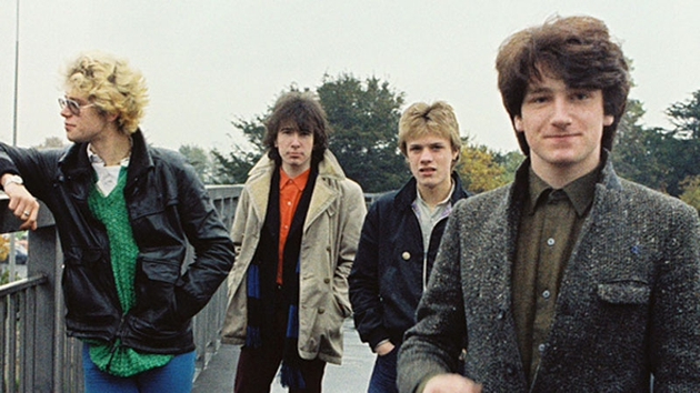 U2 go all the way back to their roots on their new album. Here they are standing on the flyover outside RTÉ in 1979. Photo credit: Eve Holmes