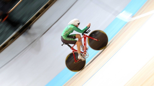 Caroline Ryan claimed a bronze medal at the UCI World Track Championships