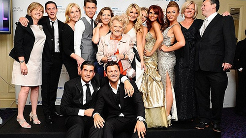 The Only Way Is Essex cast at the BAFTA TV Awards last year