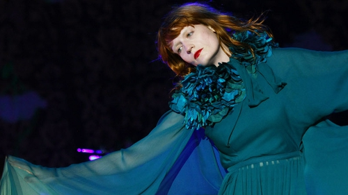 Bono gave Florence tips on high heels