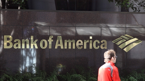Bank of America - Bank will pull out of the Irish credit card market