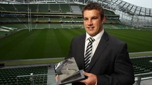 Sean O'Brien - Guinness Rugby Writers of Ireland Player of the Year 2010/11