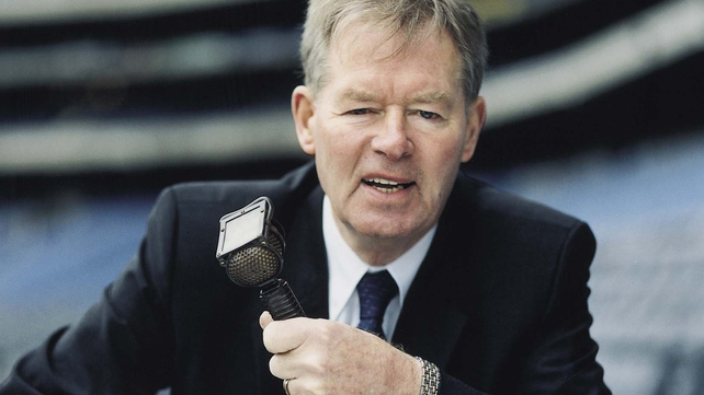 Micheál Ó Muircheartaigh consulted his family before making his decision