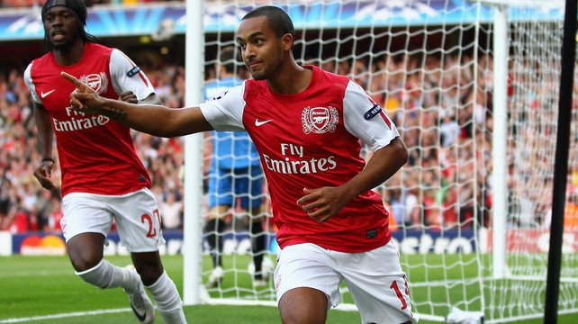 Theo Walcott has previously been linked to Liverpool