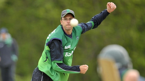 Albert van der Merwe has retired from international cricket