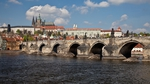 The historic Charles Bridge