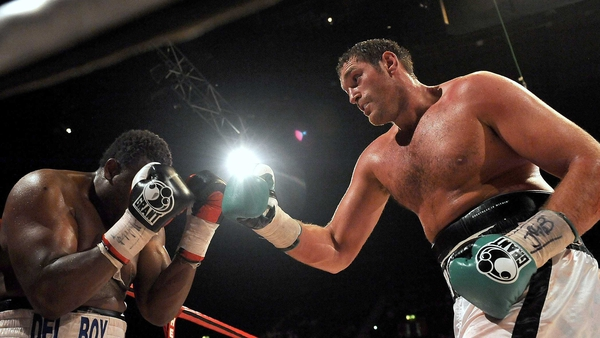 Tyson Fury was knocked down in round two but came back strongly