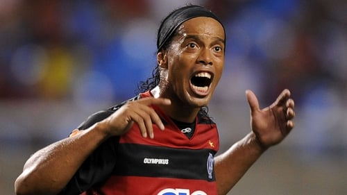 Ronaldinho came in for some harsh abuse from a Mexican politician