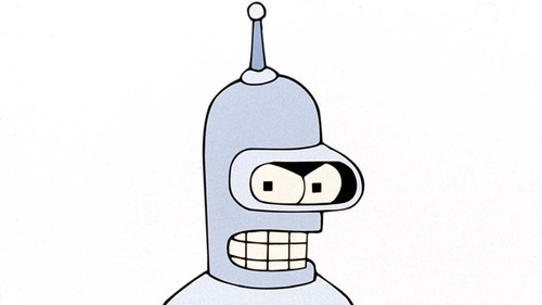 Bender throws a wobbly after hearing that Futurma's being cancelled - again!