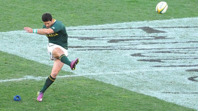 Morne Steyn kicked 12 points for South Africa