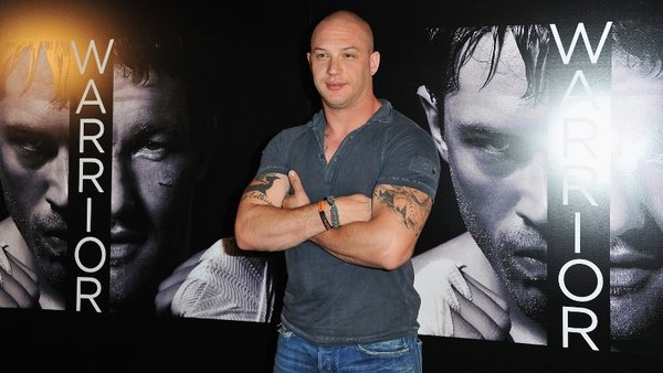 Tom Hardy: playing the villain Bane in The Dark Knight Rises