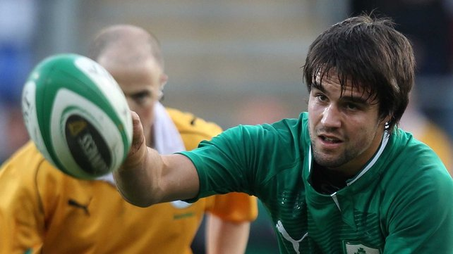 Conor Murray - Named at scrum-half for Ireland's clash with USA on Sunday