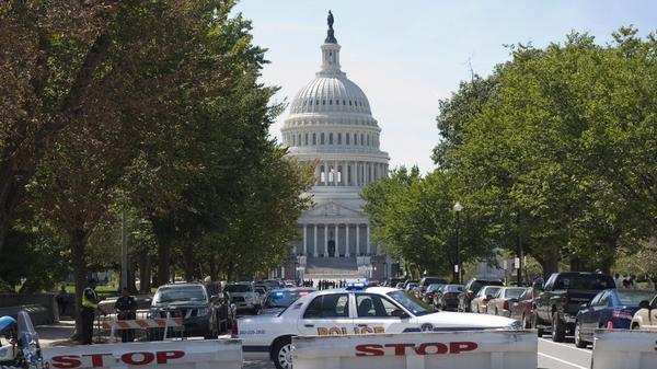 Washington landmarks evacuated