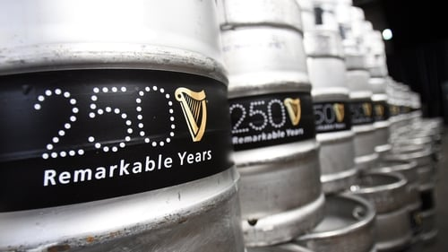 Diageo's first quarter sales growth below forecasts