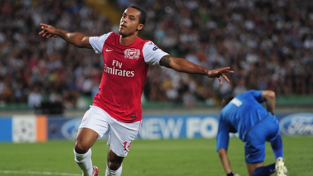 Theo Walcott's future remains up in the air