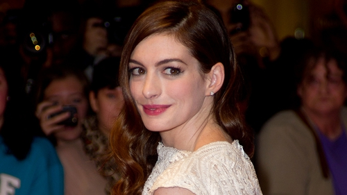 Hathaway - Got in shape for role